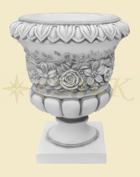 Купить садовые вазы из бетона стекловолокно в бетон